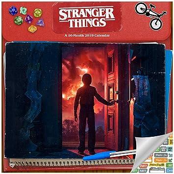 Calendario Stranger Things.Stranger 2019 Calendario 2019 De Lujo 2019 De Las Cosas