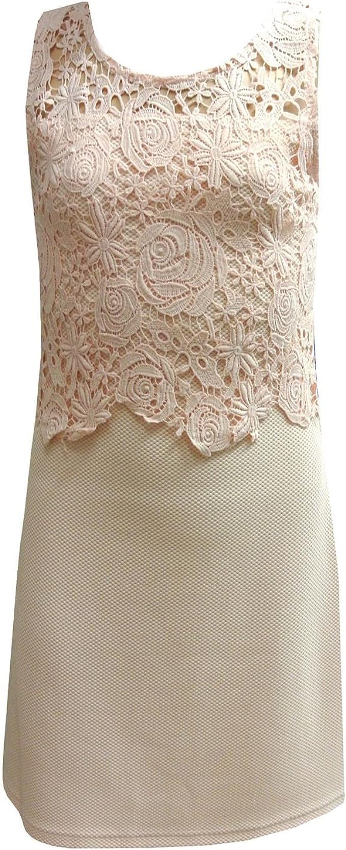 Eisend Eisend - Festliches Kleid Mädchen Trägerkleid Gemustert mit