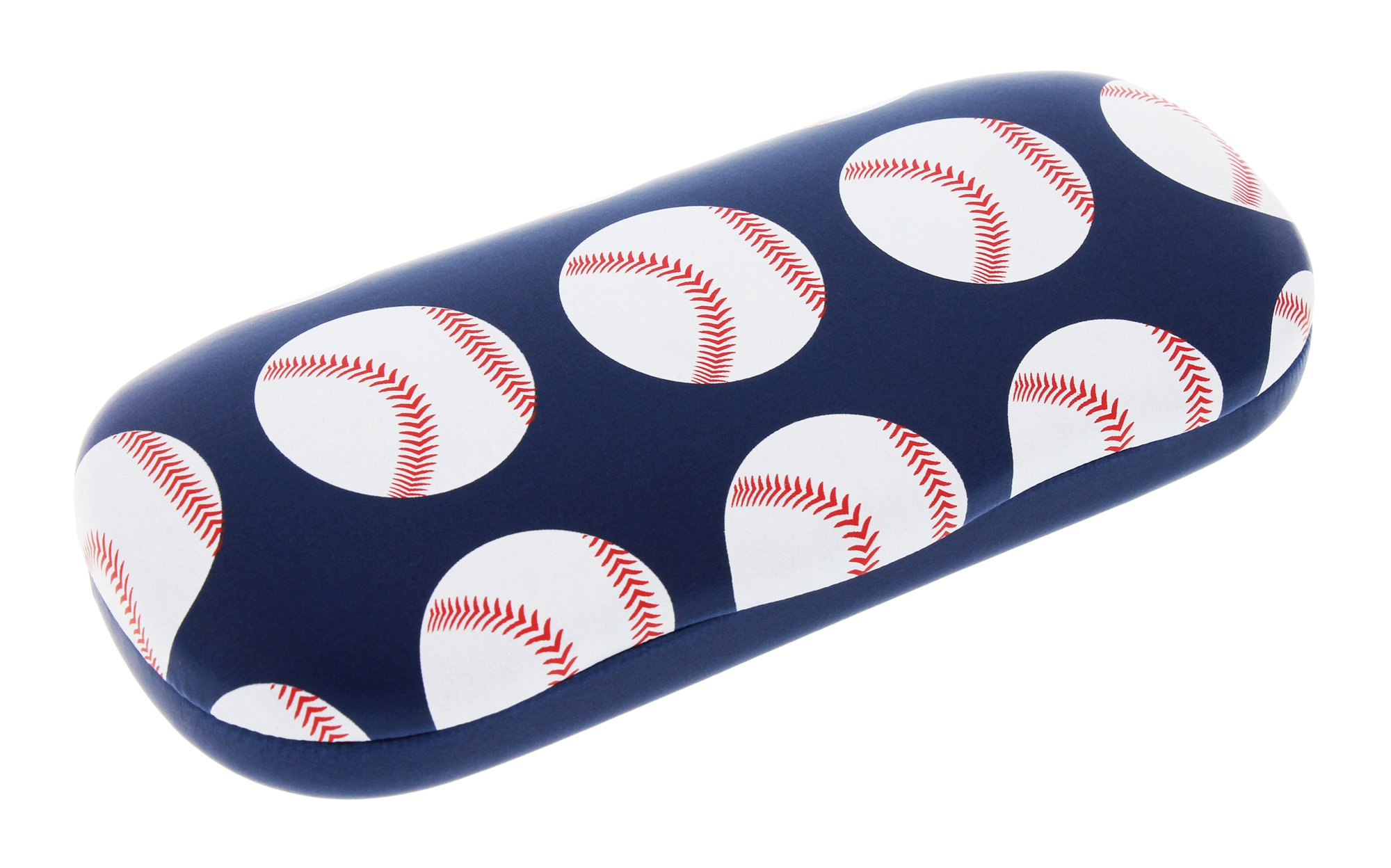 Sports Themed Hard Shell Eyeglass Case For Boys And Girls, Baseball by Ron's Optical