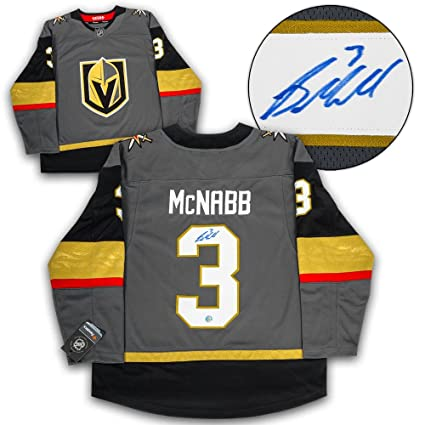 75024dc68 Image Unavailable. Image not available for. Color  Brayden McNabb (Vegas  Golden Knights) Autographed Jersey - Fanatics Replica - Autographed NHL  Jerseys
