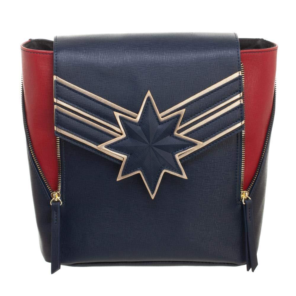 Marvel Captain Marvel Mini Backpack Purse Daypack by Bioworld (Image #2)