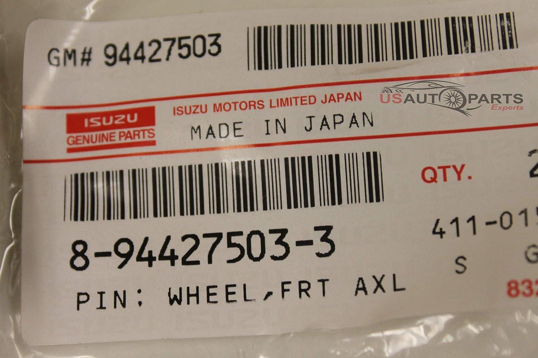 Wheel Stud; Rear for Isuzu NPR NPR-HD Left Side NRR NQR REACH 8944275033