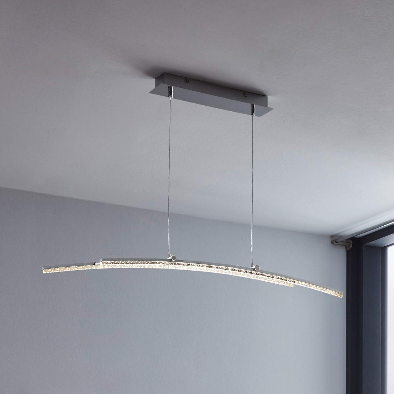 EGLO LED Pendelleuchte Pertini, 2 flammige Hängelampe