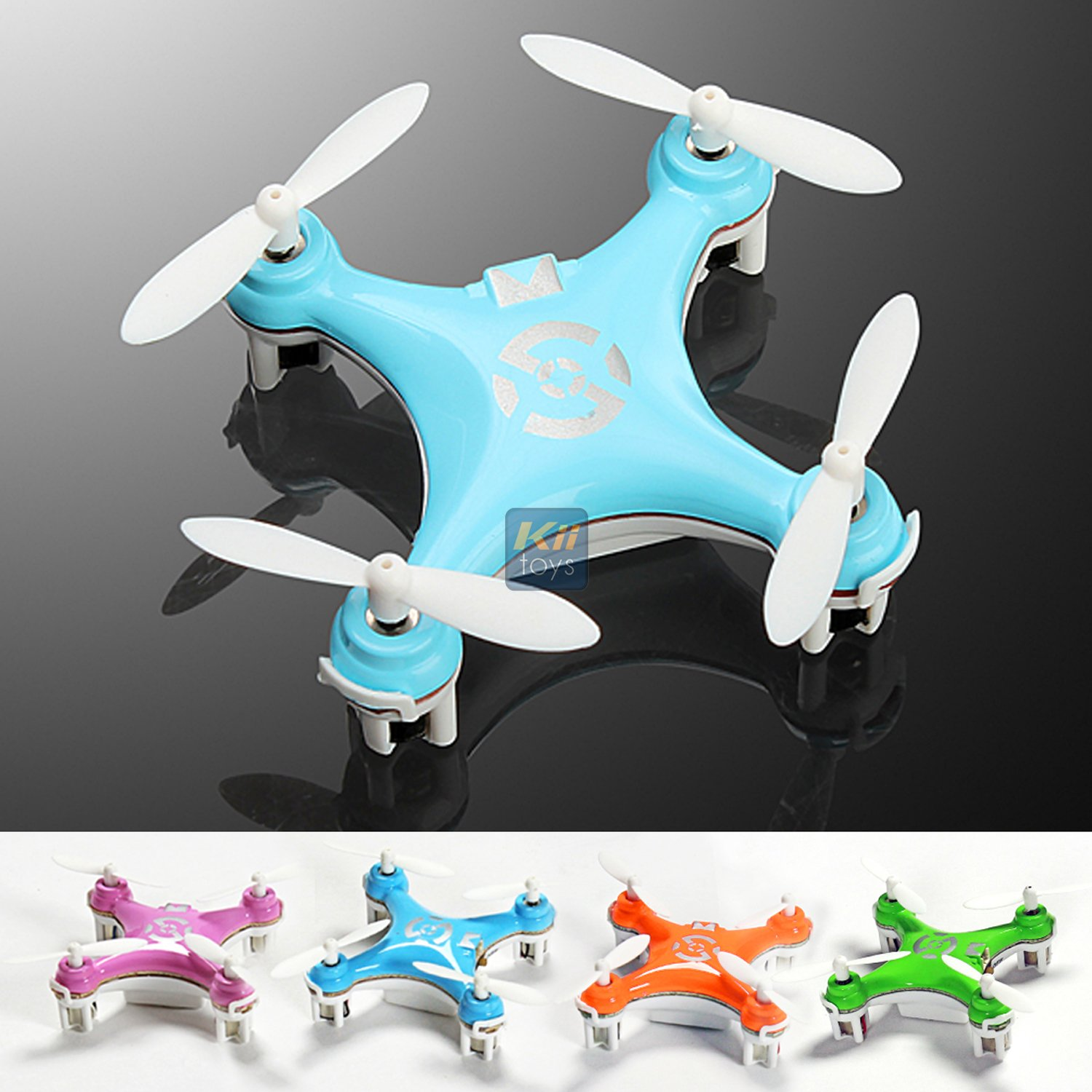 Amazon KiiToys Quadcopter Drone RC Helicopter Quad Copter Toy
