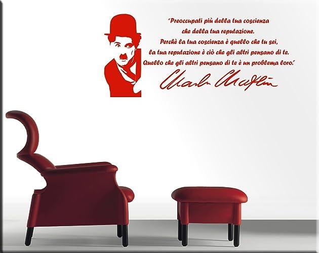 Adesivi Murali Charlie Chaplin.Wall Stickers Adesivi Murali Charlie Chaplin Cinema Adesivi