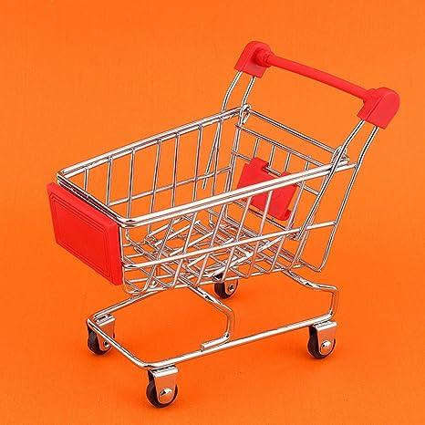 Nitrip Mini Carrito de la Compra Carro de la Compra Supermercado Carrito de la Compra Modelo