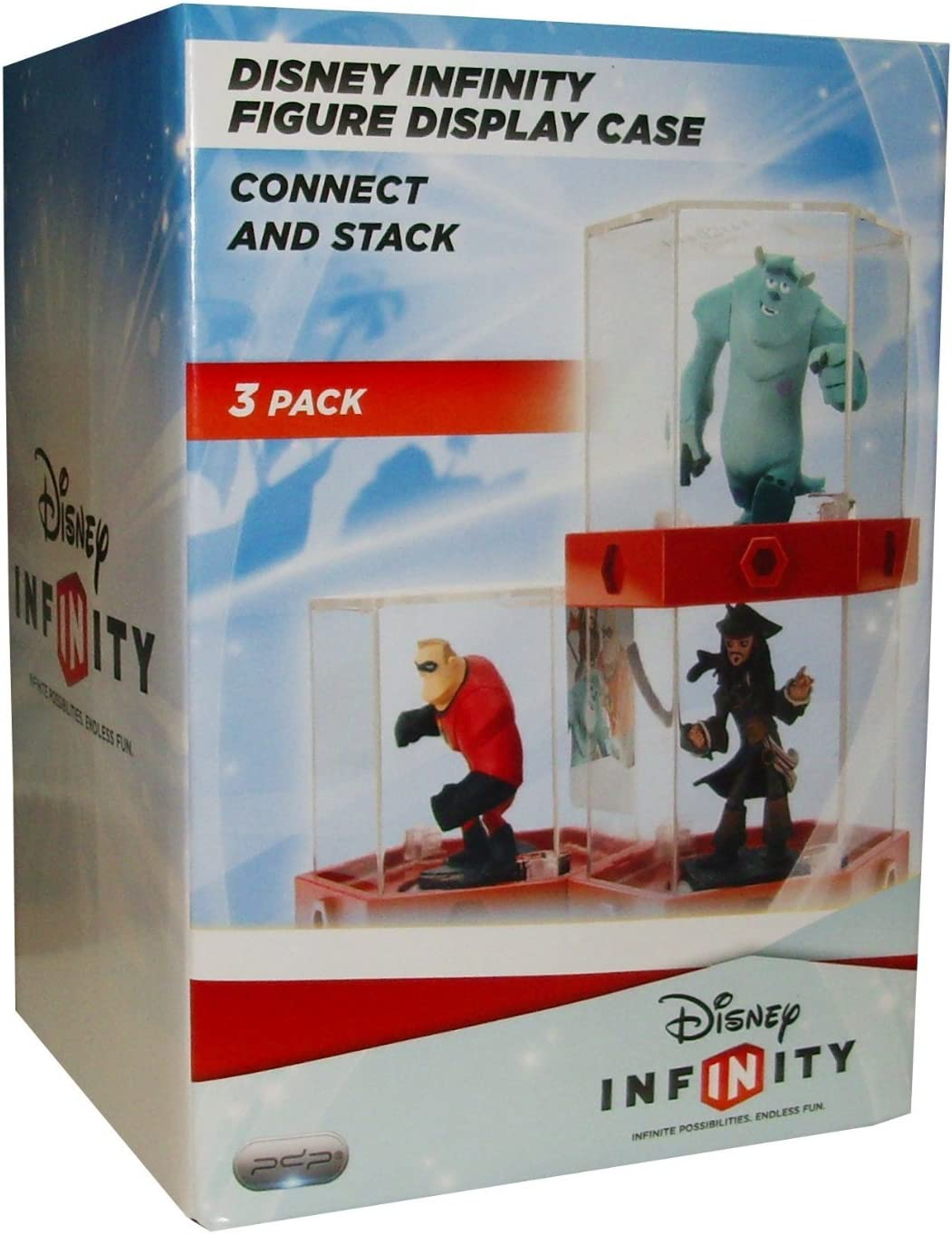 PDP -Caja Display para Figuras Disney Infinity, 3 Piezas: Amazon ...