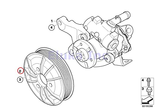 Amazon Com Bmw Genuine Active Steering Pulley