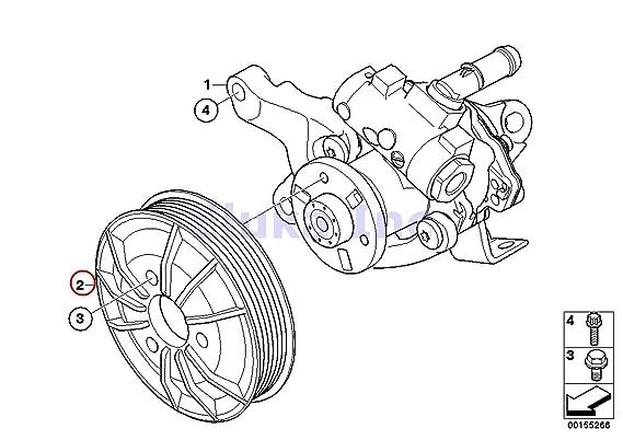 Amazon Com Bmw Genuine Active Steering Pulley