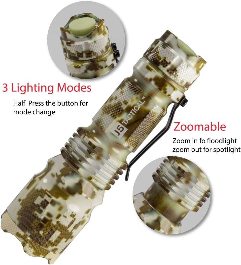 best J5 Tactical V1-Pro Flashlight under $50