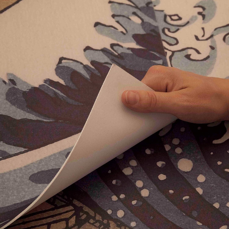 Dekoidea by Crearreda Decorazione per muri Testiera Letto 195 x 95 cm in Gomma Hokusai