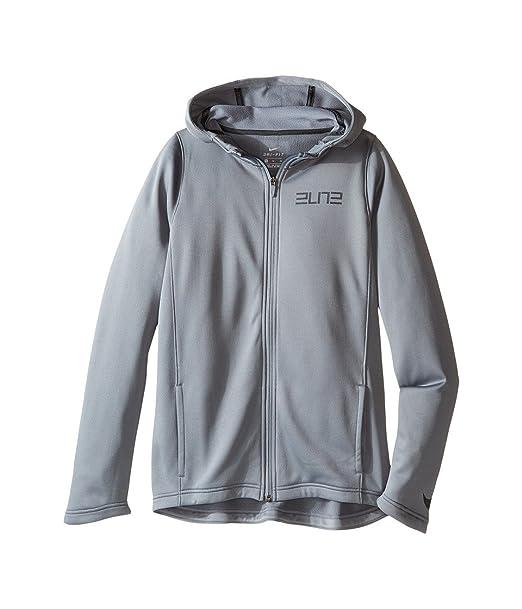 3fae7dc2eca3 Nike Therma Elite Big Kids  (Boys ) Basketball Hoodie Small  Amazon.ca   Clothing   Accessories
