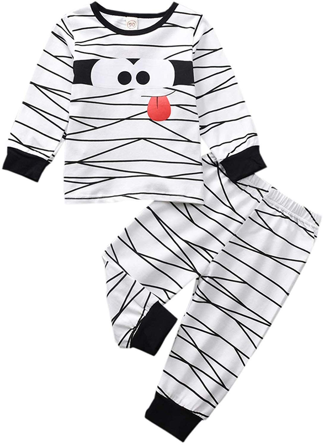 Newborn Baby Girl Boy Christmas Thanksgiving Cartoon Fox Coat Fur Bodysuit Jumpsuit Hooded Playsuit Romper Overall Outfit (White-1, 18-24 Months) by CKLV