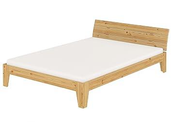 Erst Holz Doppelbett Bettgestell Massivholz Kiefer Futonbett