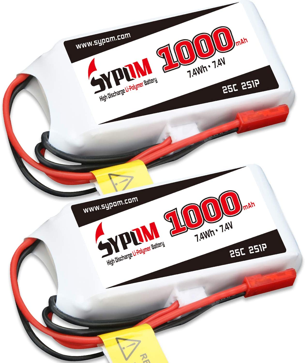 7.4V 1500mAh 25C 2S 1P Lipo Battery T Plug for RC Helicopter Drone car boat