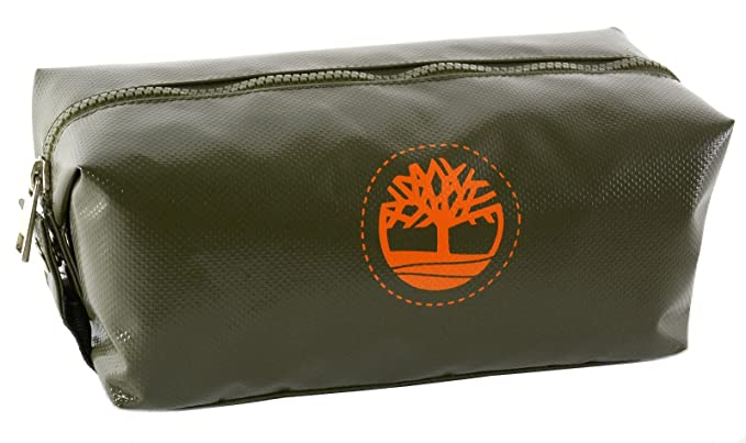4e37cdbc2729 Timberland Mens Tarp Travel Kit Organizer Toiletry Bag Overnight Shave Kit  Olive