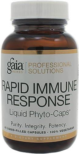 Gaia Herbs Rapid Immune Response Rx-A Defense 40 Liquid Phyto-Cap