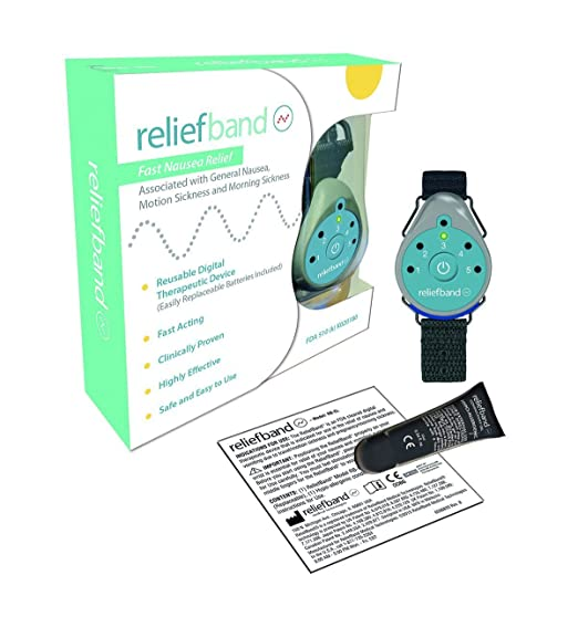 Amazon.com: Reliefband for Motion and Morning Sickness BUNDLE - INCLUDES - 2 Blucoil CR2025 Batteries: Health & Personal Care
