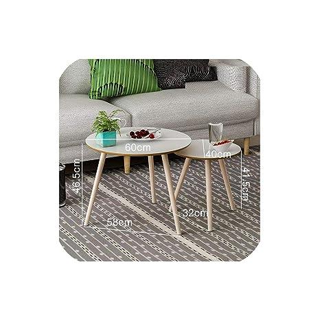 Amazon.com: Tavolo Centro minimalista sala café individual ...