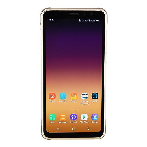 Samsung Galaxy S8 Active Sm G892a 64gb Att Titanium Gold Renewed
