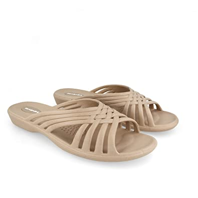 67b34c9aacba Okabashi Women s Venice Slides - Sandals (S - (W 5-6)