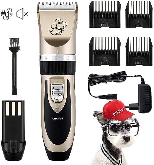 omorc Kit cortadora animales eléctrico inalámbrico recargable ...