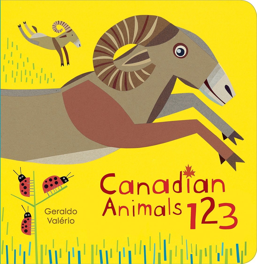 Canadian Animals 123 (Canadian Concepts)