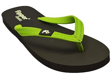 0ff34f0b6b0b4e Fipper Classic Natural Rubber Flip Flop (Men Women) Black Green