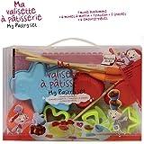 Kit patisserie complet de 16 pièces enfant - Recette incluse - Silicone - Hygiénique et pratique