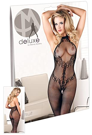 4da7017392f Mandy Mystery Deluxe Small Large Lace Catsuit  Amazon.co.uk  Health    Personal Care