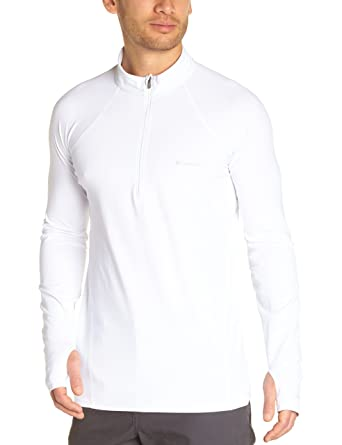 Columbia Skiunterwäsche Mens Baselayer Midweight Long Sleeve 1/2 Zip Top térmico de esquí,