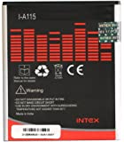 Intex Rechargable li-ion battery(3.7V,1500 mah/5.5Wh)