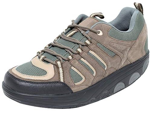 großer Diskontverkauf komplettes Angebot an Artikeln exklusive Schuhe Dynamic24 AKTIV Herren Schuhe mit Spezial Rundsohle Gondelschuhe  Aktivschuhe Gesundheitsschuhe Fitnessschuhe Freizeitschuhe