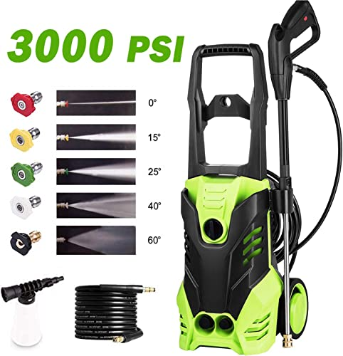 Homdox Electric High Pressure Washer 3000PSI 1.8GPM Power Pressure Washer Machine