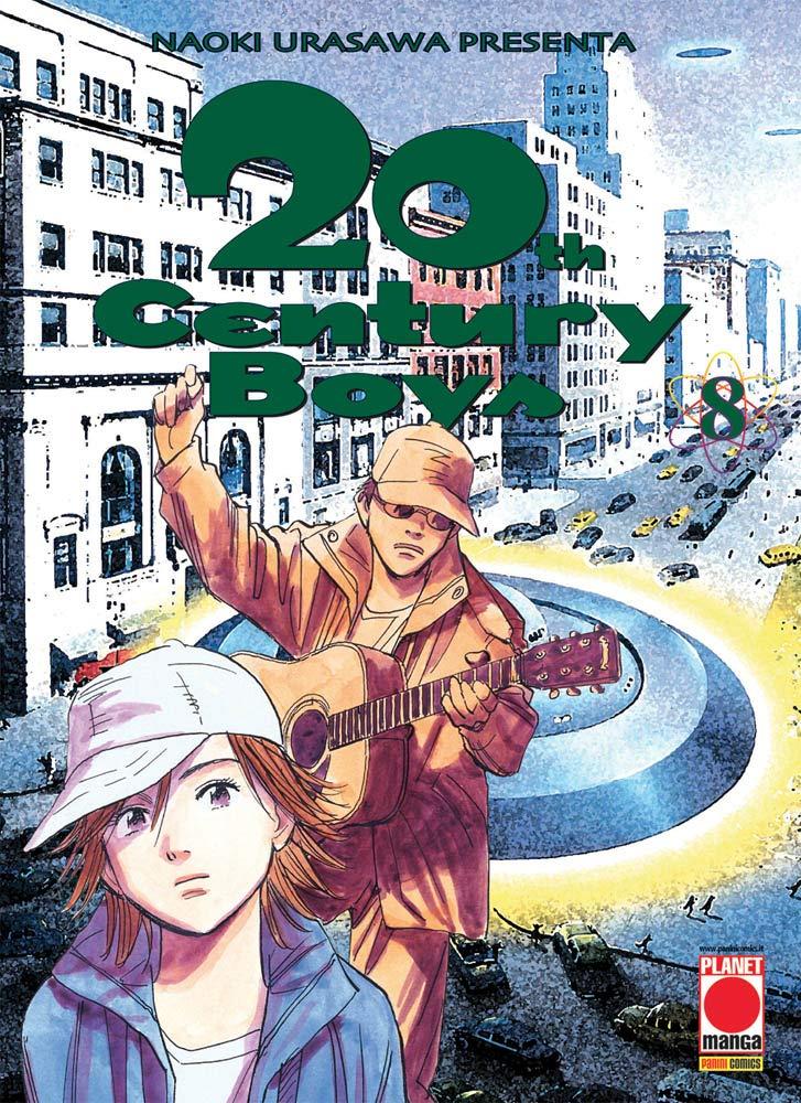 20th century boys: 8 Copertina flessibile – 24 set 2018 Naoki Urasawa Panini Comics 8891285382 DISEGNO