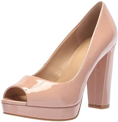 a93aa351ec8 Amazon.com  The Fix Women s Veronica Platform Peep Toe Pump  Shoes