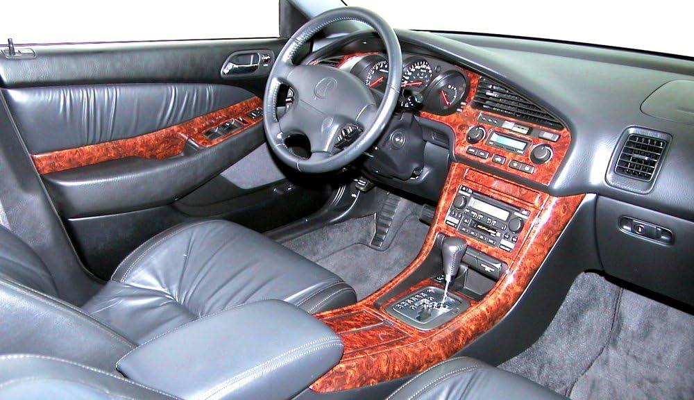 Acura CL CL Type-S Type S Coupe 2 Door Interior BURL Wood Dash Trim KIT Set 2001 2002 2003