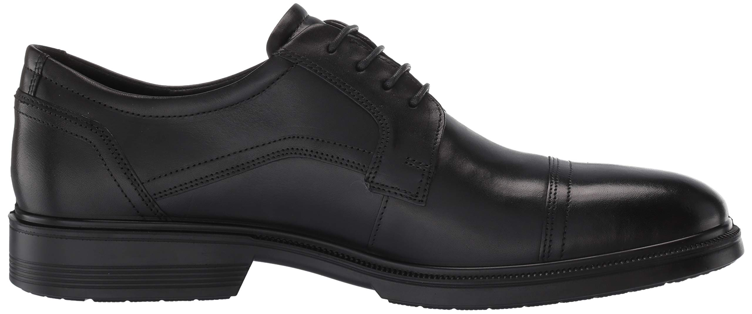 ECCO Men's Lisbon Cap Toe Tie Oxford, Black, 48 EU/14-14.5 M US by ECCO (Image #7)