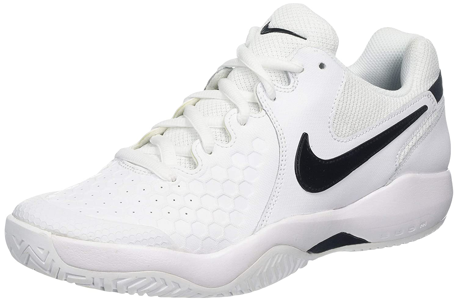 Nike Men's Air Zoom Resistance WhiteBlack Tennis Shoes 9 UK (44 EU) (10 US) (918194 102)
