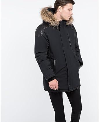 d8778b7ec8 Men's Rudsak Stefano Coat - Black (XL) at Amazon Men's Clothing store:
