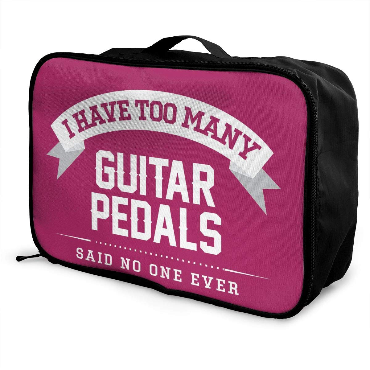 Travel Luggage Duffle Bag Lightweight Portable Handbag Guitar Pedals Large Capacity Waterproof Foldable Storage Tote