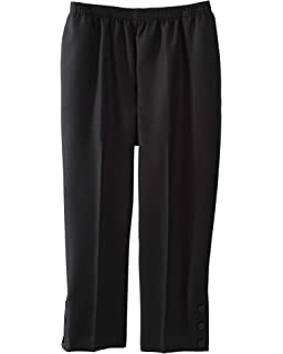 55bf0cad79a Alfred Dunner Womens Plus Bahama Bays Stretch Waist Capri Pants ...