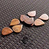 Blues Tones Lot de 4 médiators en bois de rose indien
