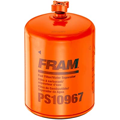 FRAM PS10967 HD Secondary Spin-On Fuel Filter with Drain: Automotive
