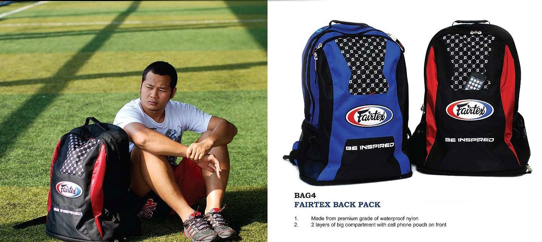 Fairtex Back Pack Rucksack Rucksack Rucksack Gym New One aus Premium Grade Wasserdicht Nylon schwarz Farbe B00C8T10A0 Baseball Trend 277604