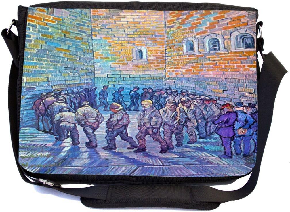 fb36ff337d7b hot sale 2017 Rikki Knight Van Gogh Art Prisoners Walking the Round ...