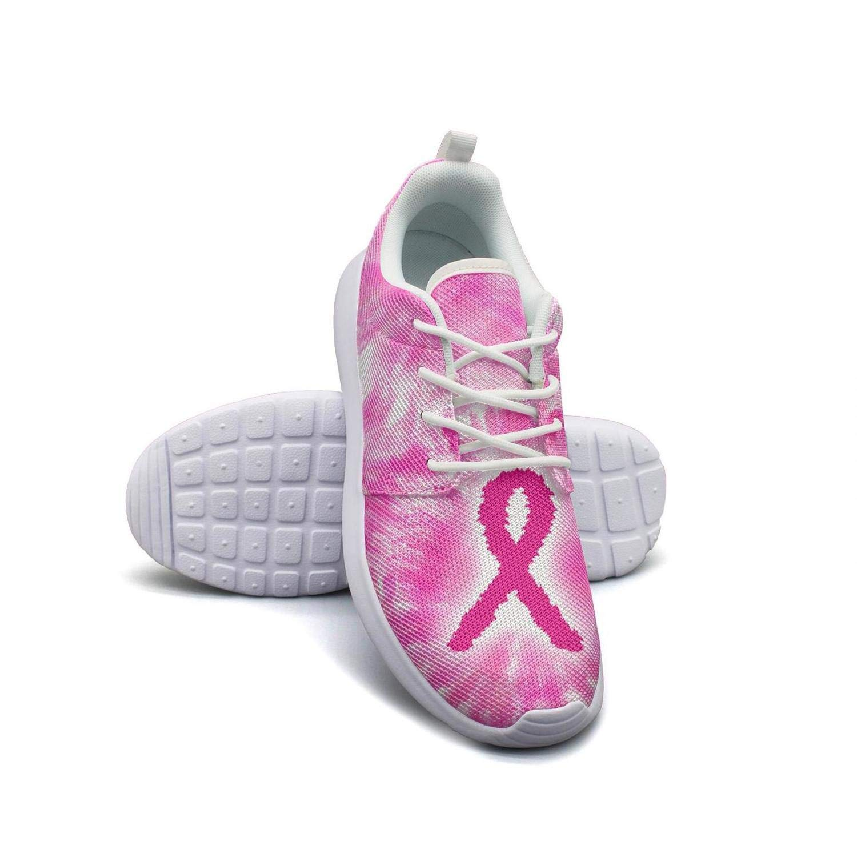 lsawdas Breast Cancer Awareness Yellow Running Shoes Women Training Shoes