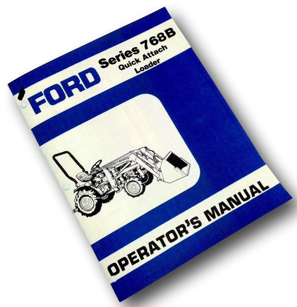 Tractor Manuals & Publications Other Tractor Publications FORD ...