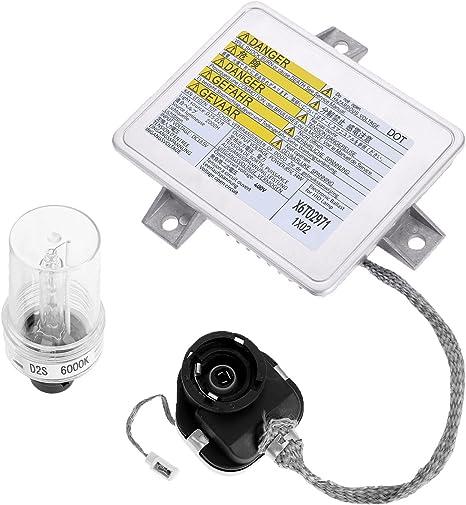 HID Xenon Xenon HID Xenon Headlight Ballast Igniter Bulb f/ür S2000 W3T10471 W3T12472 W3T14371 X6T02971 X6T02981 X6T02993