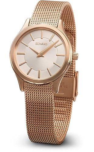 Reloj Duward para mujer colección Elegance Flat modelo D25105.21: Amazon.es: Relojes